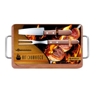 Kit Churrasco 35x21cm