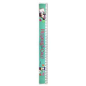 Régua de Plástico 30cm Minnie
