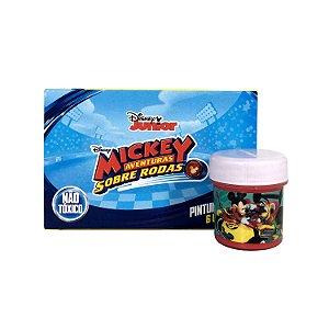 Tinta Guache 6 Cores Mickey