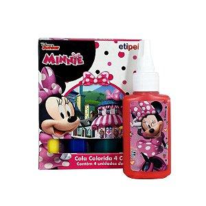 Cola Colorida 4 Cores Minnie