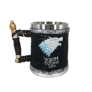 "Caneca Resina ""Winter is Coming"" - cod. MG-6113"