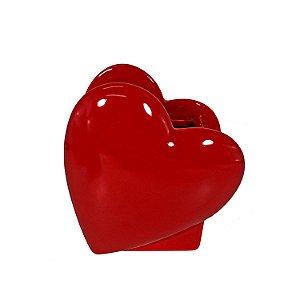 Vaso de Cerâmica Coração