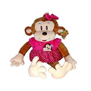 Macaco de Pelúcia 60cm