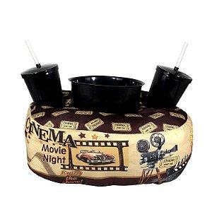 "Almofada Porta Pipoca ""Cinema"""