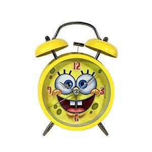 Relógio Despertador Bob Esponja