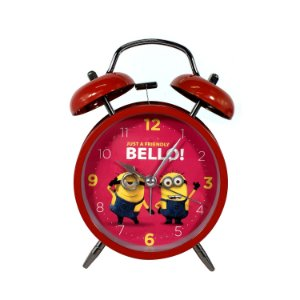 Relógio Despertado Minions - Meu Malvado Favorito