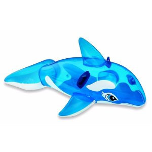 Boia Baleia Transparente