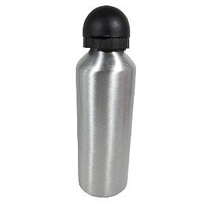 Garrafa Lisa 500ML Alumínio Prata