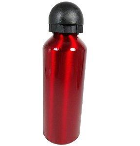 Garrafa Lisa 500ML Alumínio Vermelha