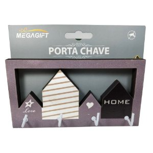 Porta Chave Home love e Prédios