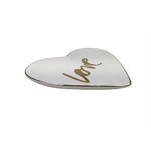 Enfeite de mesa Love - cerâmica
