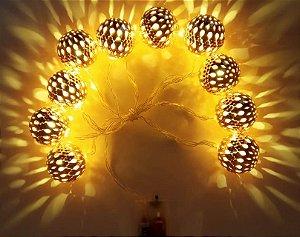 Enfeite Decorativo com Luzes
