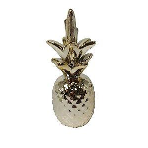 Vaso Decorativo abacaxi de Cerâmica