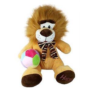 Pelúcia Leão com bola