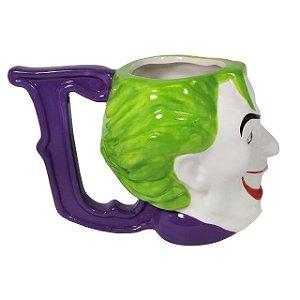 Caneca Porcelana  235ml Coringa, Joker Face