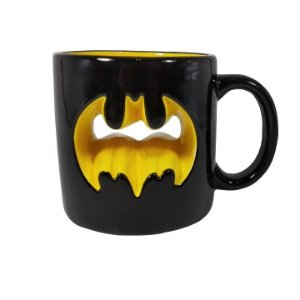 Caneca Decorativa Mould WB JL Core Batman