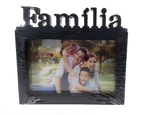 Porta Retrato de Plástico Família