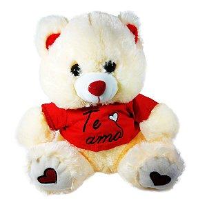 Pelúcia Urso ''te amo''