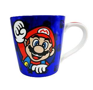 Caneca de Cerâmica 400ML Mario New Gift