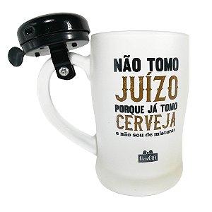 Caneca com Campainha 400ML Tomo Cerveja