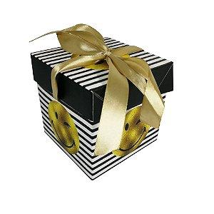 Caixa Cubo com 12 para Presentes 10cm