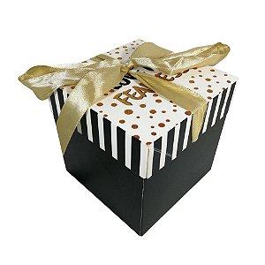 Caixa Cubo com 12 para Presentes 16cm