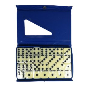 Jogo de Dominó 28 Peças 10mm