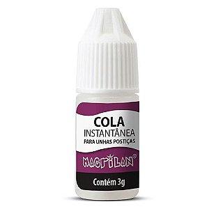 Cola Instantânea para Unhas Postiças Macrilan