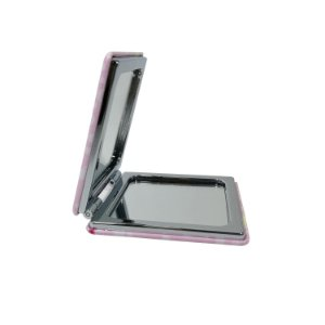 Mini Espelho de Bolsa com Moldura