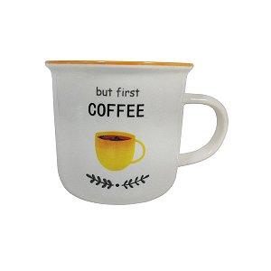 Caneca de Cerâmica 390ml Coffee