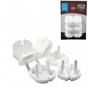 Protetor  para Tomadas de Plástico com 6/PÇ - Clink