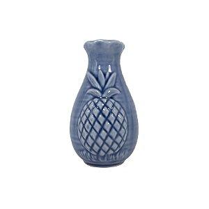 Vaso de Porcelana Abacaxi 12cm