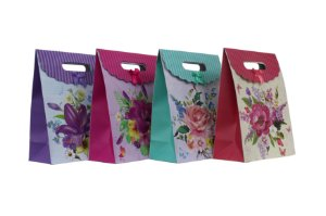 Sacola de Presente Floral PP