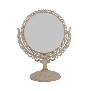 Espelho Redondo com Moldura de Plástico