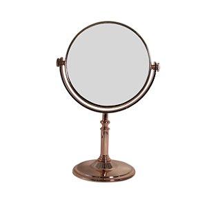 Espelho Redondo com Moldura de Metal