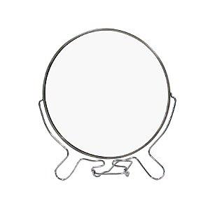 Espelho de Mesa 8 Polegadas Moldura de Metal