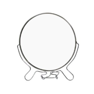Espelho de Mesa 7 Polegadas Moldura de Metal