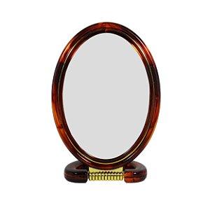 Espelho de Mesa Moldura de Plástico