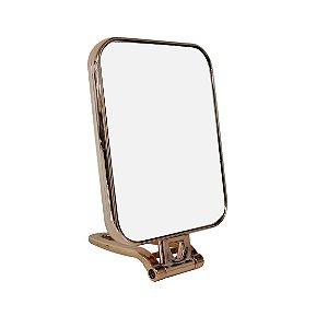 Espelho de Mesa com Moldura de Metal