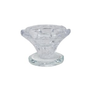 Enfeite Decorativo de Vidro Transparente 4,5cm