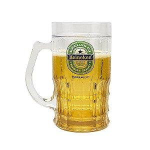 Caneca de Plástico Shopp 400ml Heineken