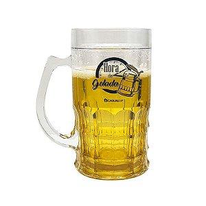 Caneca de Plástico Shopp 400ml Hora da Cerveja