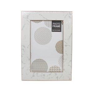 Porta Retrato de Mesa Retangular Plástico 10cmx15cm