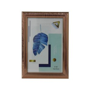 Porta Retrato de Mesa Plástico 10cmx15cm