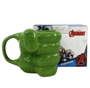 Caneca Formato Mão Hulk 350ml