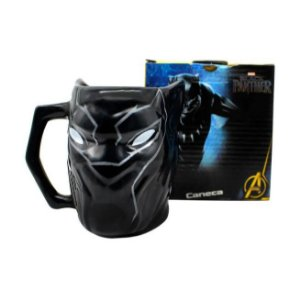 Caneca 3D Pantera Negra 450ml