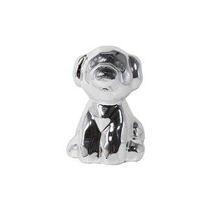 Enfeite de Mesa Cachorro de Cerâmica 8cm