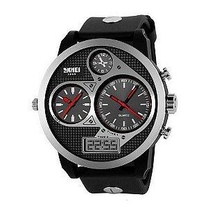0d676bcc1f6 Relógio Masculino Skmei Anadigi 1065 PT-VM - ShopSublime - Aqui tem ...