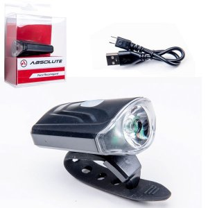 Farol Absolute JY-7043 Preto 1 Led