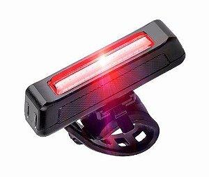 Pisca Sinalizador Led Traseiro Vermelho 4 funções Recarregável USB - HIGH ONE